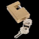 Sealey PL207 Brass Shutter Padlock 56mm