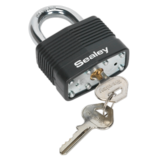 Sealey PL302 Steel Body Padlock 50mm