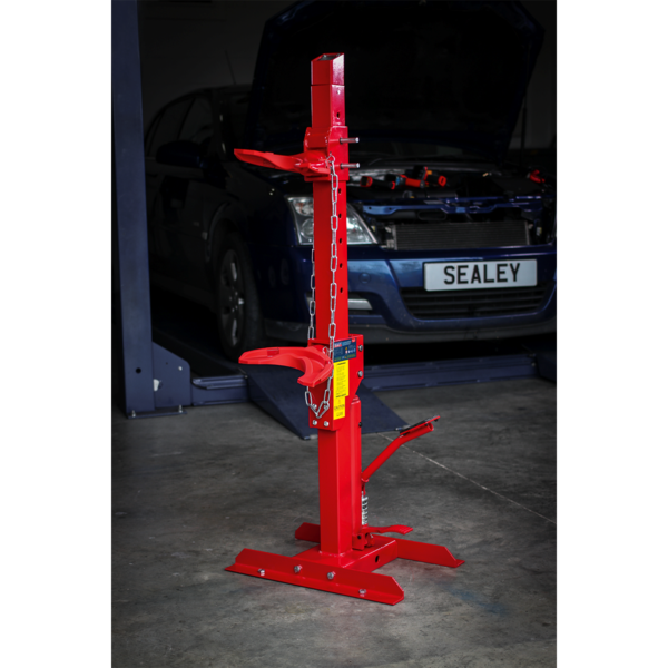 Sealey Coil Spring Compressing Station with Gauge Hydraulic 2000kg Capacity Thumbnail 7