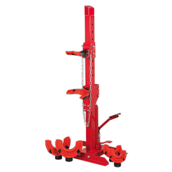 Sealey Coil Spring Compressing Station with Gauge Hydraulic 2000kg Capacity Thumbnail 5