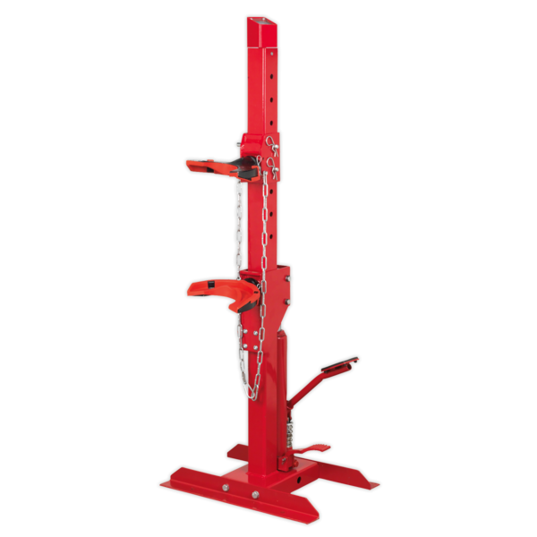 Sealey Coil Spring Compressing Station with Gauge Hydraulic 2000kg Capacity Thumbnail 1