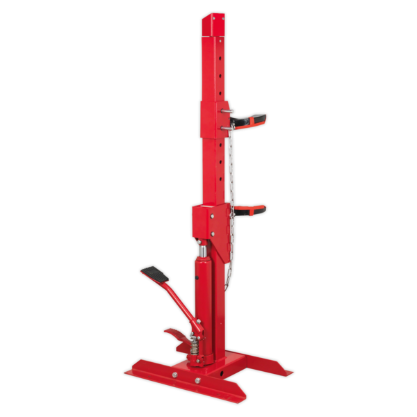 Sealey Coil Spring Compressing Station with Gauge Hydraulic 2000kg Capacity Thumbnail 3
