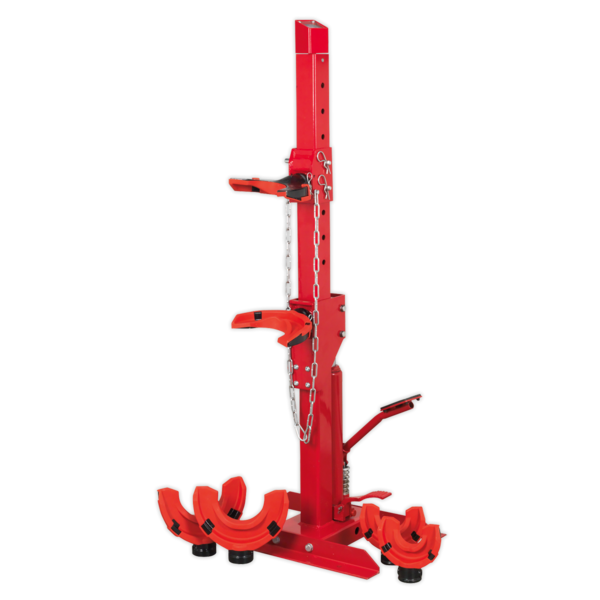 Sealey Coil Spring Compressing Station with Gauge Hydraulic 2000kg Capacity Thumbnail 4