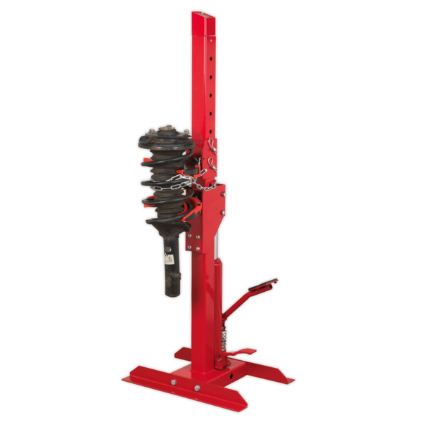 Sealey Coil Spring Compressing Station with Gauge Hydraulic 2000kg Capacity Thumbnail 2