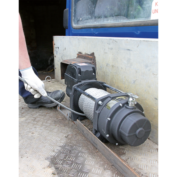 Sealey RW5675 Recovery Winch 5675kg (12500lb) Line Pull 12V Industrial Thumbnail 3