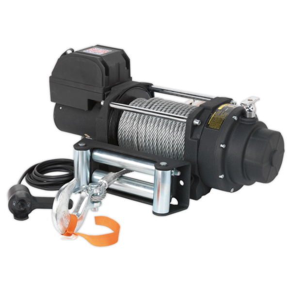 Sealey RW5675 Recovery Winch 5675kg (12500lb) Line Pull 12V Industrial Thumbnail 2