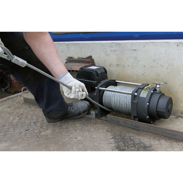 Sealey RW8180 Recovery Winch 8180kg (18000lb) Line Pull 12V Industrial Thumbnail 4