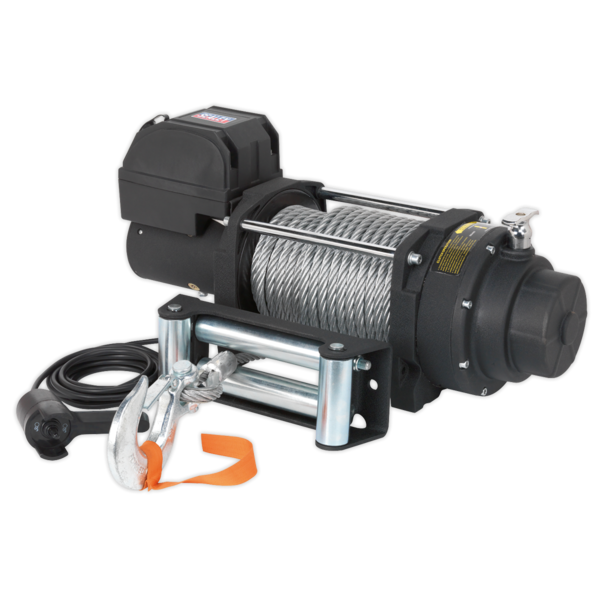 Sealey RW8180 Recovery Winch 8180kg (18000lb) Line Pull 12V Industrial Thumbnail 2