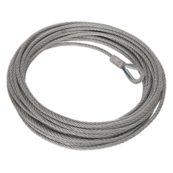 Sealey RW8180.WR Wire Rope (Dia. 13mm x 25mtr) for RW8180 Recovery Winch Thumbnail 1
