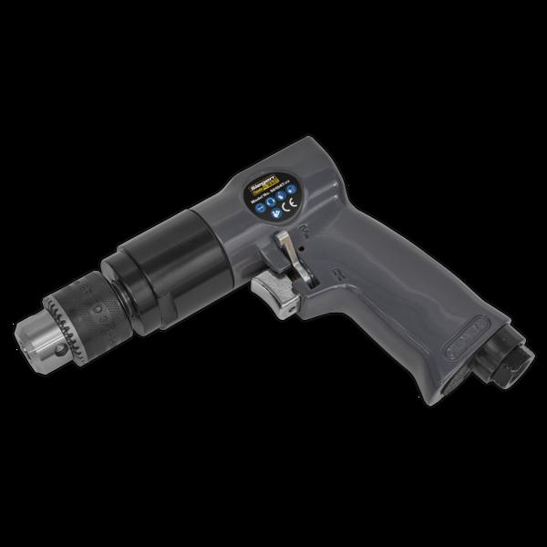 Sealey S01047 Air Drill Ø10mm 1800rpm Reversible Thumbnail 1