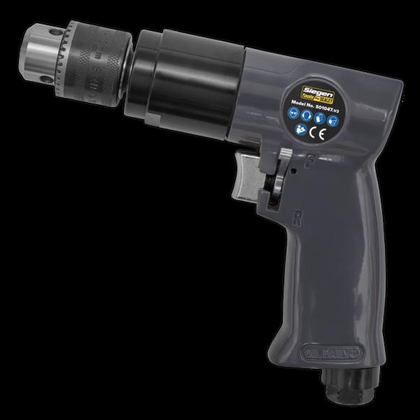 Sealey S01047 Air Drill Ø10mm 1800rpm Reversible Thumbnail 2