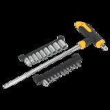 "Sealey S01071 T-Handle Socket & Bit Set 21pc 1/4"" Sq Drive"