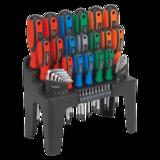 Sealey S01090 Screwdriver, Hex Key & Bit Set 44pc