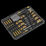 Sealey S01110 Screwdriver Bit Set 60pc