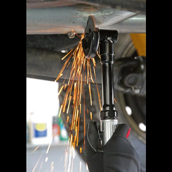 Sealey SA2501 Air Cut-Off Tool Ø75mm Long Reach Thumbnail 5