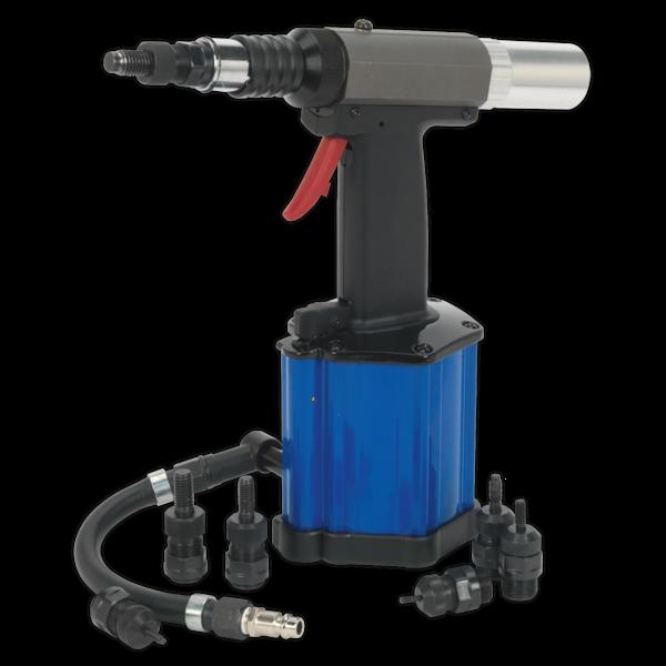 Sealey SA317 Air/Hydraulic Nut Riveter Heavy-Duty Vacuum System Thumbnail 1