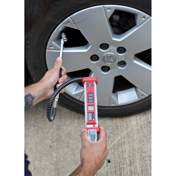 Sealey SA397 Professional Digital Tyre Inflator with Twin Push-On Connector Thumbnail 4