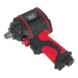 "Sealey SA6002S Air Impact Wrench 1/2"" Square Drive Stubby Twin Hammer"