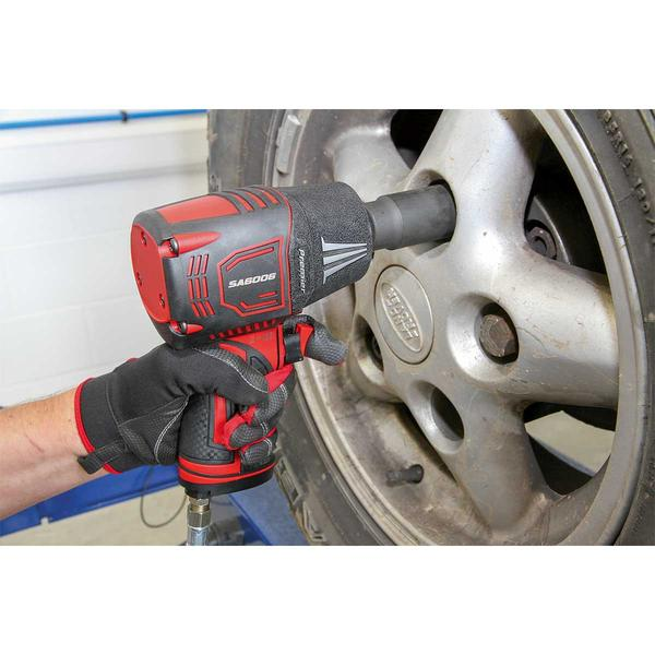 "Sealey SA6006 Composite Air Impact Wrench 1/2"" Square Drive Twin Hammer Thumbnail 3"