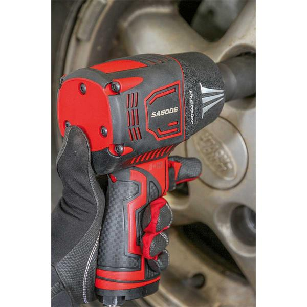 "Sealey SA6006 Composite Air Impact Wrench 1/2"" Square Drive Twin Hammer Thumbnail 4"