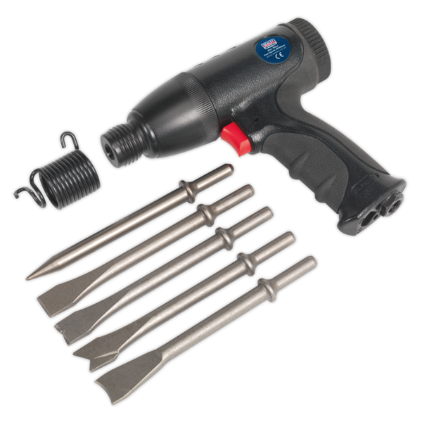 Sealey SA613 Air Hammer Kit Composite Premier - Medium Stroke Thumbnail 2