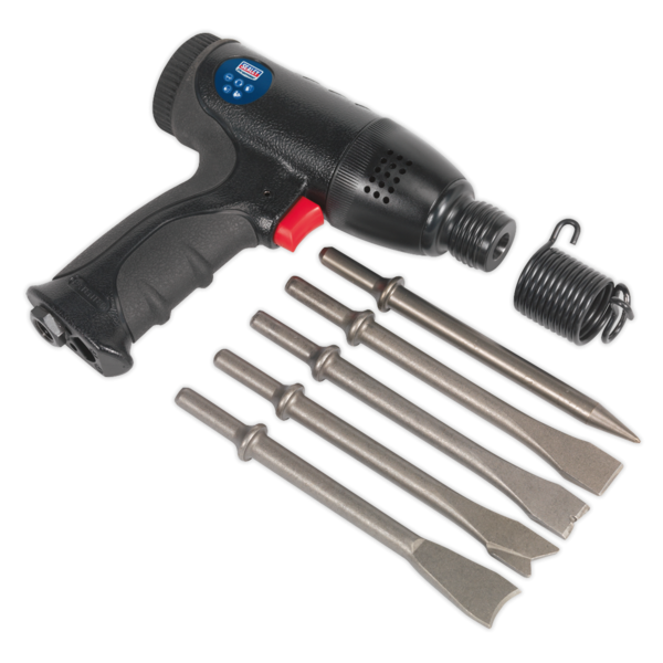 Sealey SA613 Air Hammer Kit Composite Premier - Medium Stroke Thumbnail 4
