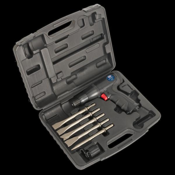 Sealey SA614 Air Hammer Kit Composite Premier - Long Stroke Thumbnail 1