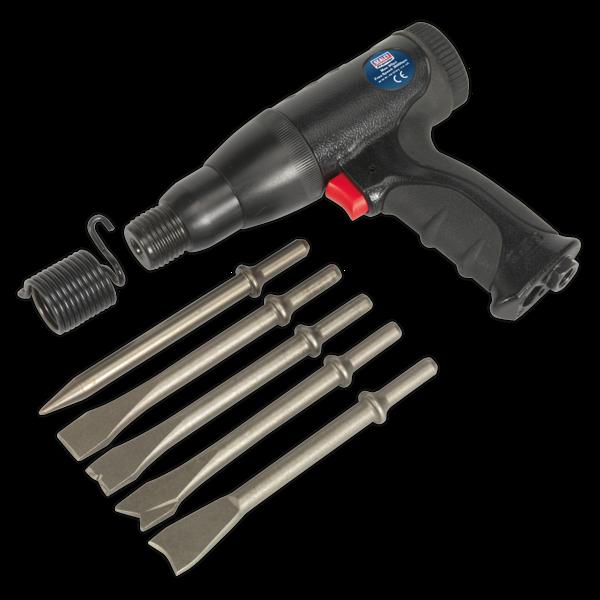 Sealey SA614 Air Hammer Kit Composite Premier - Long Stroke Thumbnail 4
