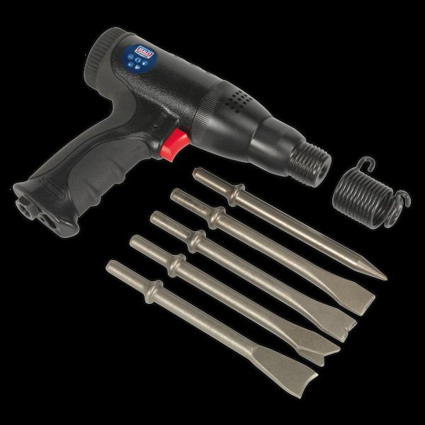 Sealey SA614 Air Hammer Kit Composite Premier - Long Stroke Thumbnail 2