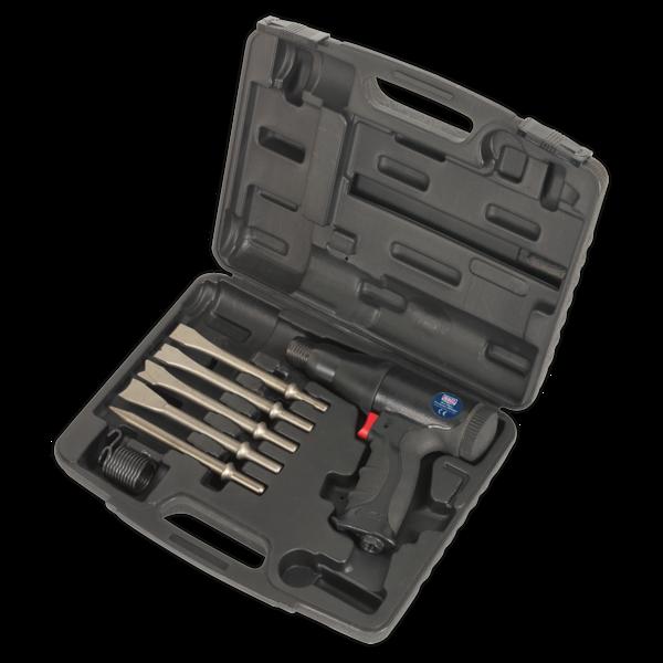 Sealey SA614 Air Hammer Kit Composite Premier - Long Stroke Thumbnail 3