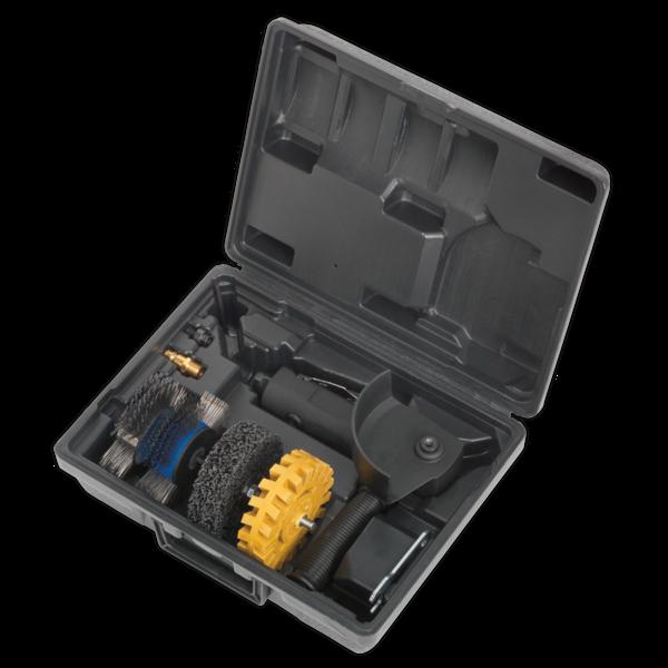Sealey SA695 Smart Eraser Air Tool Kit 4pc Thumbnail 1
