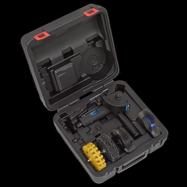 Sealey SA695 Smart Eraser Air Tool Kit 4pc Thumbnail 5