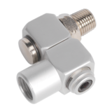 "Sealey SA902 Z-Swivel Air Hose Connector 1/4"" BSP"