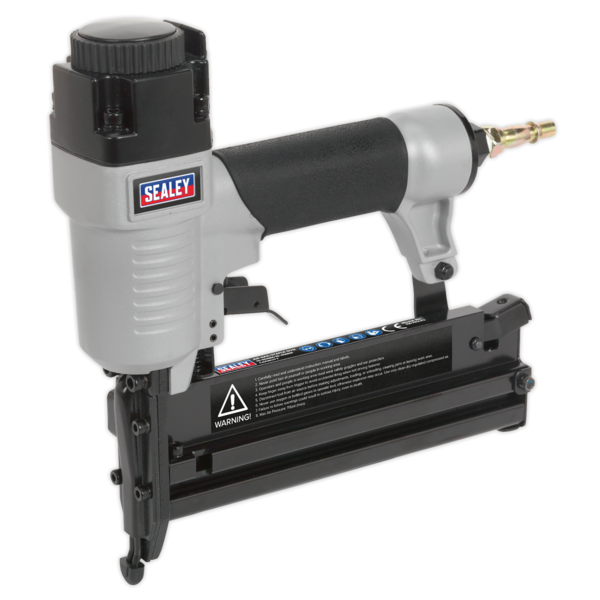 Sealey SAC0610EKIT Air Nail/Staple Gun Kit with Compressor Hose & Nailer/Stapler Thumbnail 2