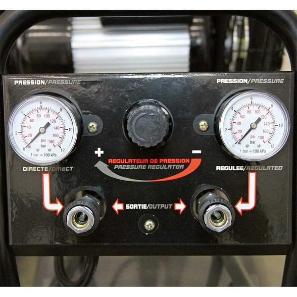 Sealey SAC3103B Compressor 100ltr Belt Drive 3hp with Front Control Panel Thumbnail 3