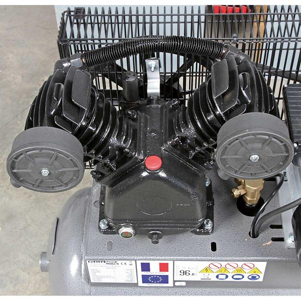 Sealey SAC3103B Compressor 100ltr Belt Drive 3hp with Front Control Panel Thumbnail 5