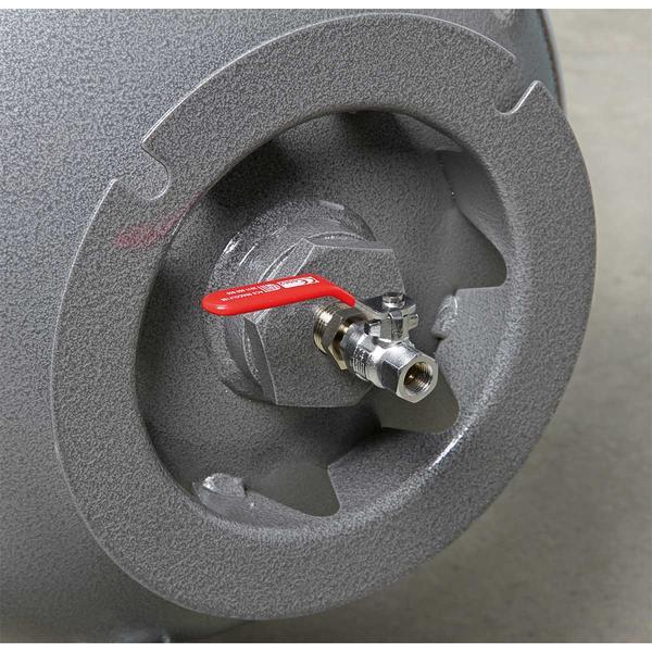 Sealey SAC32055B Compressor 200ltr Belt Drive 5.5hp 3ph Thumbnail 4