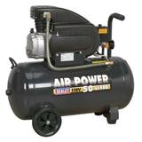 Sealey SAC5020E110V Air Compressor 50ltr Direct Drive 2hp 110V