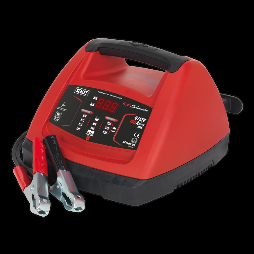 Sealey Starter 150Amp/Intelligent Speed Charge Battery Charger 20Amp 6/12V