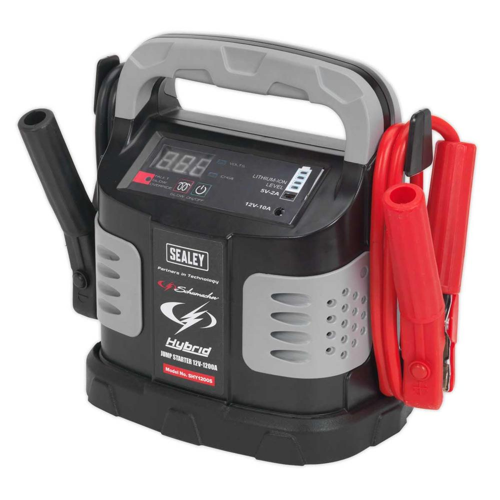 Sealey SHY1200S Hybrid Ultra Capacitor Jump Starter 12V 1200A
