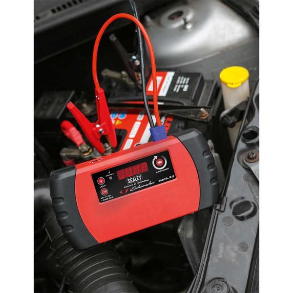 Sealey SL1S Jump Starter Power Pack Lithium (LiFePO4) 400A Thumbnail 7