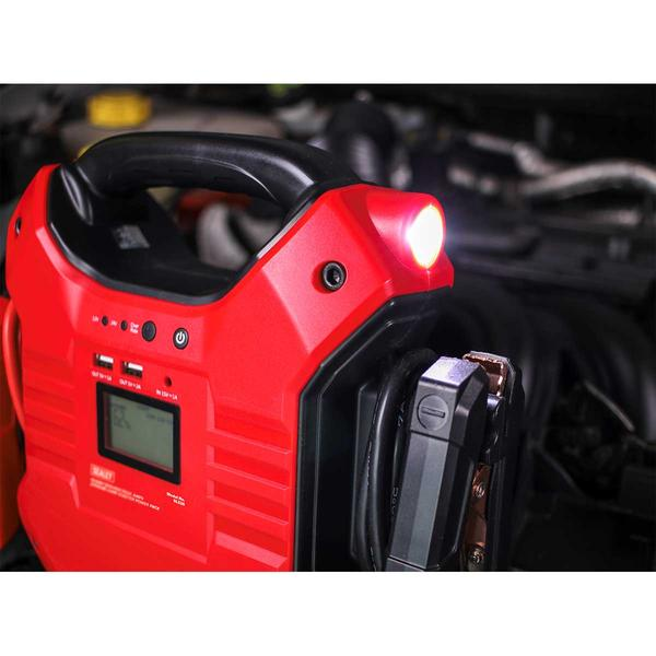 Sealey SL32S Jump Starter Power Pack Lithium Iron Phosphate 12/24V Thumbnail 4