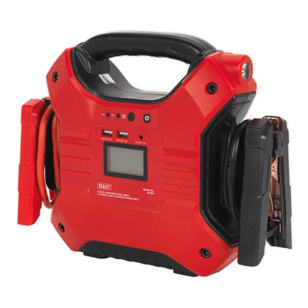 Sealey SL32S Jump Starter Power Pack Lithium Iron Phosphate 12/24V Thumbnail 3