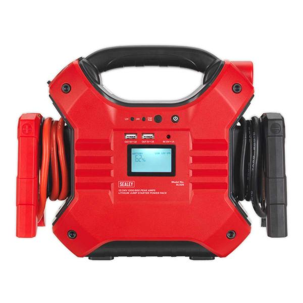 Sealey SL32S Jump Starter Power Pack Lithium Iron Phosphate 12/24V Thumbnail 2