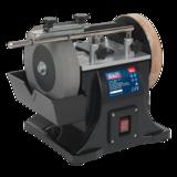 Sealey SMS2101 Sharpener 200mm Diameter with Honing Wheel
