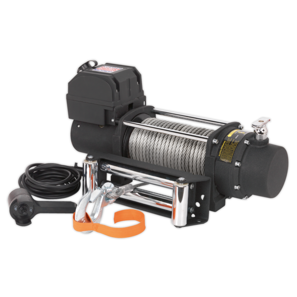 Sealey SRW4300 Self Recovery Winch 4300kg (9500lb) Line Pull 12V Thumbnail 3