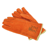 Sealey SSP151 Leather Welding Gauntlets Lined Heavy-Duty - Pair (Extra Large)