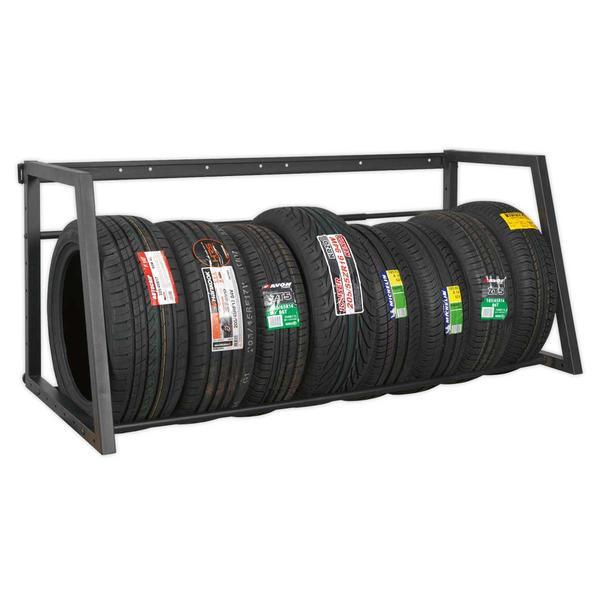 Sealey STR001 Extending Tyre Rack Wall or Floor Mounting Thumbnail 3