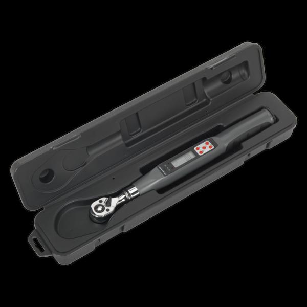 "Sealey STW307 Torque Wrench Digital 3/8""Sq Drive 2-24Nm(1.48-17.70lb.ft) Thumbnail 2"