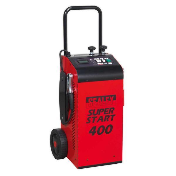 Sealey SUPERSTART400 Starter/Charger 400Amp 12/24V Thumbnail 1